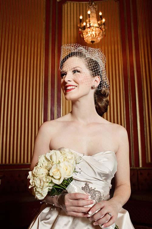 weddingstylist 1950 hairstyle wedding Οι νυφικές κομμώσεις μπαίνουν στην μηχανή του χρόνου!