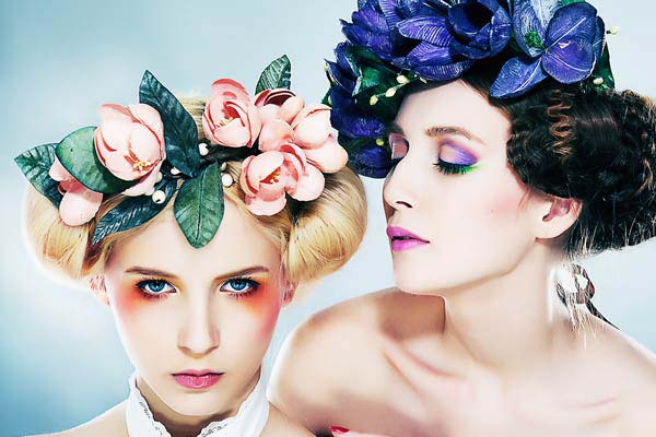 weddingstylist flower crowns Στεφανωθείτε...με πανέμορφα λουλούδια στα μαλλιά!