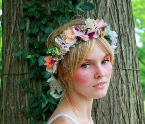 weddingstylist louloudia stefania wedding Στεφανωθείτε...με πανέμορφα λουλούδια στα μαλλιά!