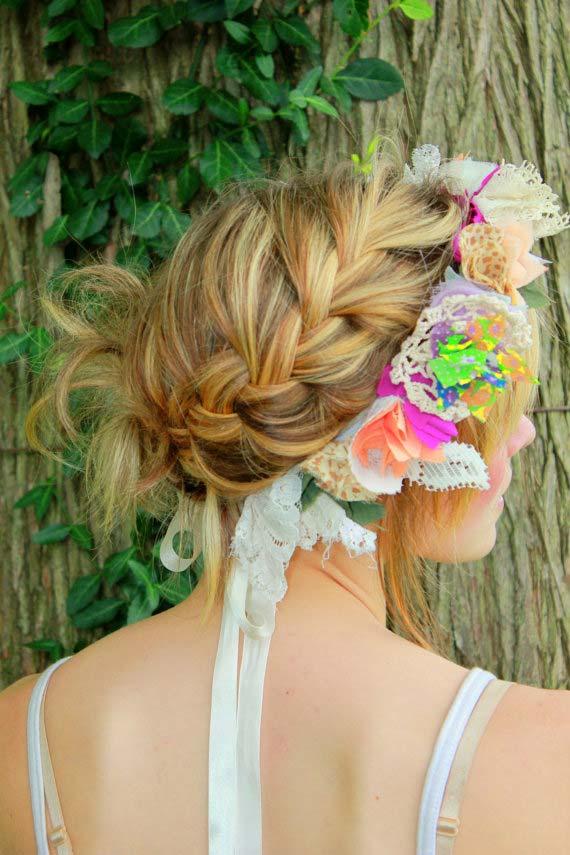weddinstylist flower crowns Στεφανωθείτε...με πανέμορφα λουλούδια στα μαλλιά!