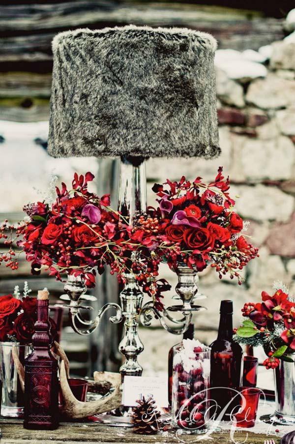 weddingstylist gamos trapezi xeimwnas Μια χειμωνιάτικη νύφη στη Χώρα των Θαυμάτων