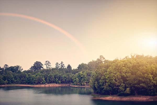 weddingstylist rainbow Η αγάπη είναι χρώμα!