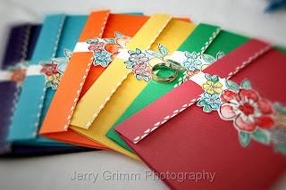 weddingstylist rainbow invitations Η αγάπη είναι χρώμα!