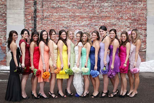 weddingstylist rainbow paranifoi Η αγάπη είναι χρώμα!