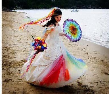 weddingstylist rainbow thema gamos Η αγάπη είναι χρώμα!