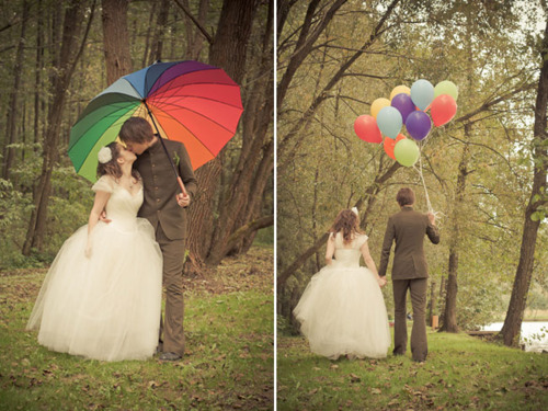 weddingstylist rainbow themagamou Η αγάπη είναι χρώμα!