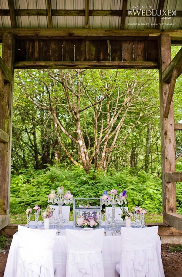 weddingstylist ruffles table wedding Κυματιστά εφέ για...αέρινες νύφες!