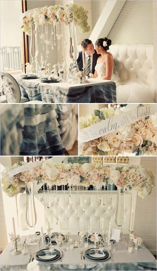 weddingstylist winter wedding table Μια χειμωνιάτικη νύφη στη Χώρα των Θαυμάτων
