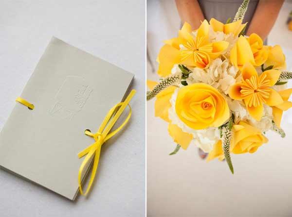 weddingsylist origami Origami λουλούδια για έναν μοντέρνο γάμο