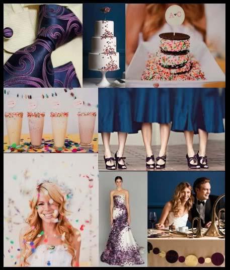 weddingstylist confetti inspiration Γάμος γιορτή με...κονφετί!