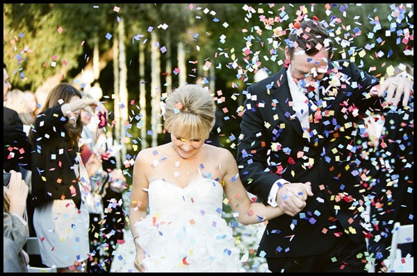weddingstylist confetti rice Γάμος γιορτή με...κονφετί!
