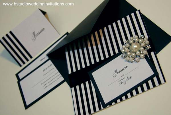 weddingstylist invitations cards Ρίγες παντού!
