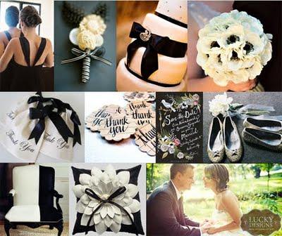 weddingstylist ivory black wedding Όταν το λευκό φίλντισι συναντά το μαύρο