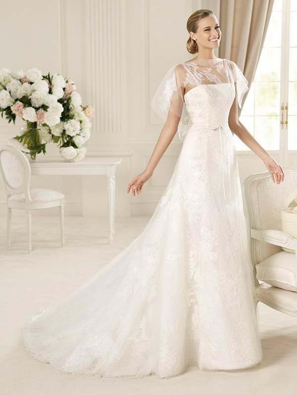 93c7e1cef416 weddingstylist manuel motta weddingdresses Νυφικά Pronovias 2013  Μια βουτιά  στην κλασσική ομορφιά