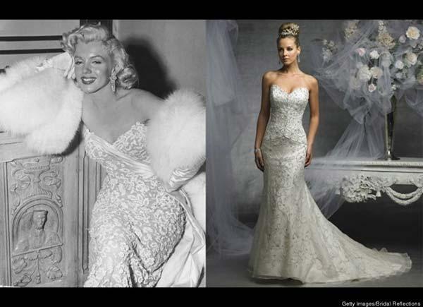 weddingstylist monroe weddingdress Κάντο όπως η Μέριλιν!