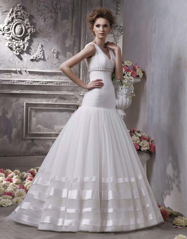 weddingstylist weddingdress stripes Ρίγες παντού!