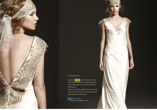 weddingstylist artdeco wedding dresses Ένας γάμος...Art Deco!
