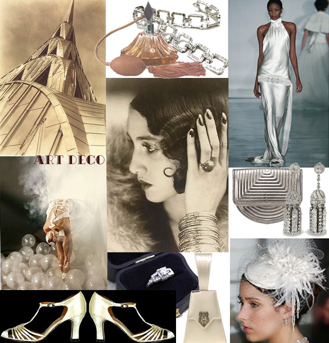 weddingstylist artdeco wedding inspiration Ένας γάμος...Art Deco!