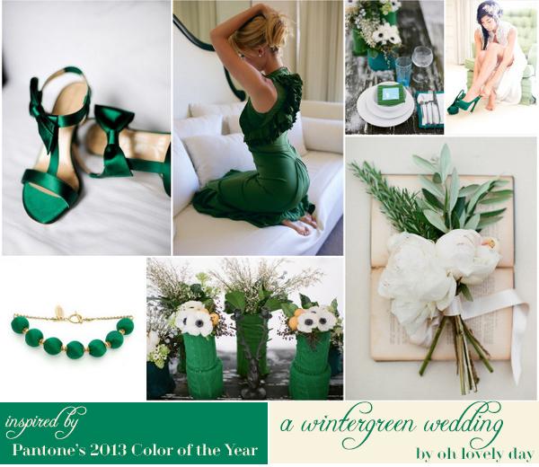 weddingstylist pantone colour2013 Pantone: Πράσινη ισορροπία για το 2013