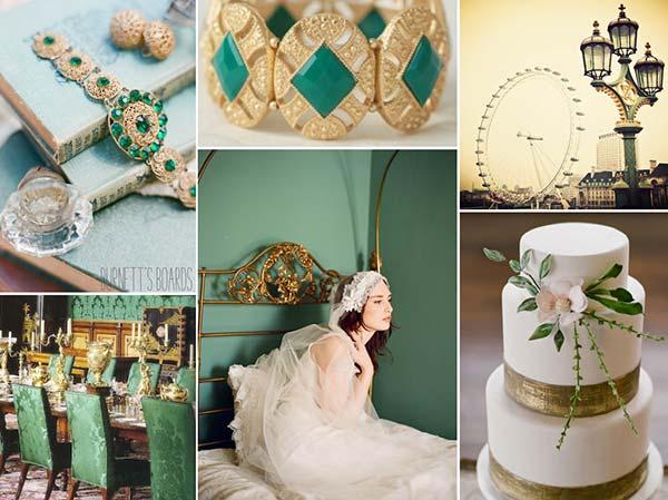 weddingstylist pantone xrwma 2013 Pantone: Πράσινη ισορροπία για το 2013