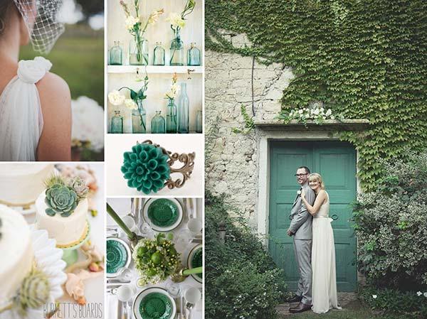 weddingstylist pantonexrwma Pantone: Πράσινη ισορροπία για το 2013