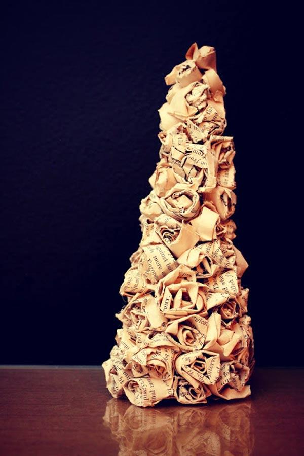 weddingstylist tree1 Αξιολάτρευτο Χριστουγιεννιάτικο Δέντρο D.I.Y.