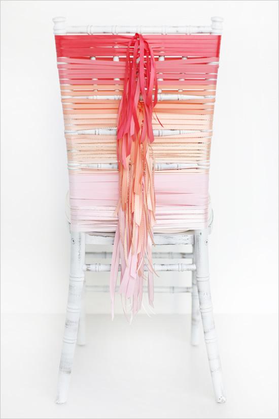 weddingstylist chair diy Διακόσμηση καρεκλών εύκολα, έξυπνα, απλά!