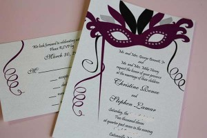 weddinstylist mardigras wedding invitations 300x200 weddinstylist mardigras wedding invitations