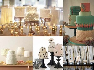weddingstylist multiple wedding cakes 300x225 weddingstylist multiple wedding cakes